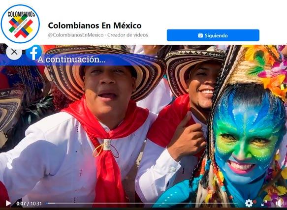 El carnaval de Barranquilla se vivió en México