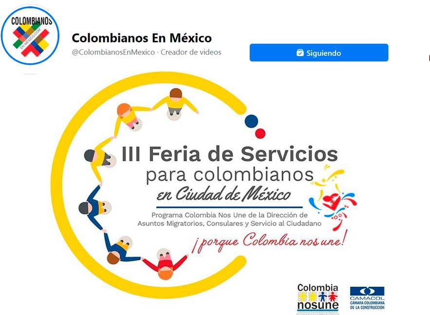 Feria de Servicios para Colombianos en México