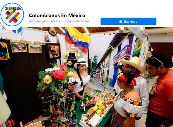 Independencia de Colombia en México