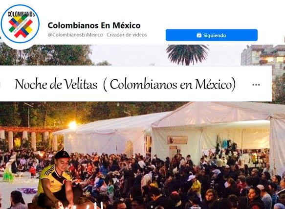 Noche de Velitas e Integración Colombia – México.