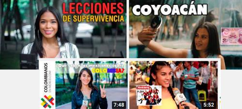Vídeos mexicolombianos (intercambio cultural)
