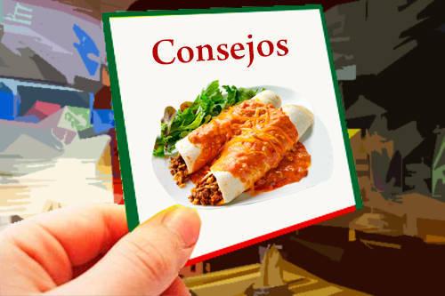 Recomendaciones a tener en cuenta con las enchiladas