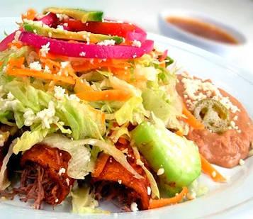 Enchilada tradicional de México