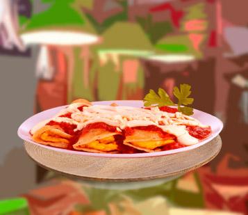Enchiladas Rojas mexicanas