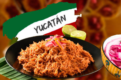 🍛 Cochinita pibil un estilo yucateco que enamoró a los mexicanos