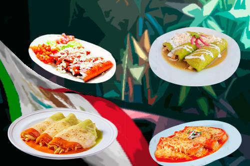 Enchiladas más famosas de México