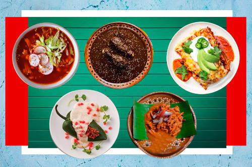 【Los 5 platillos】 más representativos de la cocina tradicional mexicana