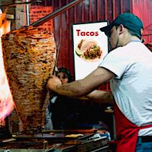 Tacos al pastor antojito