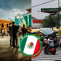 Plaza Garibaldi pegada al famoso Tepito